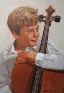 Taylor - Oil Painting by Nathan Pinnock